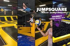 Uitstap jeugd naar Jumpsquare